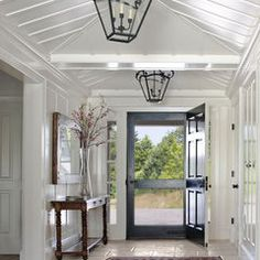 Oversized front door  traditional entry by Albert, Righter & Tittmann Architects, Inc.