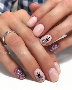 pink Acrylic short square nails design for summer nails, french manicures, short nails Natural Nail Shapes, Natural Nails, Square Nail Designs, Short Nail Designs, Short Square Nails, Short Nails, Acrylic Nail Designs, Nail Art Designs, Nails Design