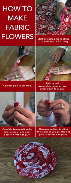 Tips For Just A Second Wedding Ceremony Anniversary Reward How To Make Fabric Flowers Arts And Crafts Diy Fabric Flowers Diy Crafts Diy Decorations Flowers To Go, Making Fabric Flowers, Felt Flowers, Flower Making, Diy Flowers, Paper Flowers, Cloth Flowers, Burlap Flowers, Rolled Fabric Flowers