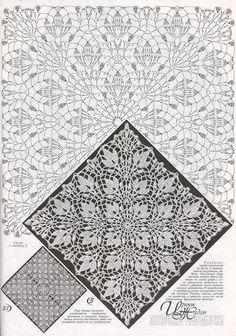 (3) Estrella de la mañana crochet - Posty