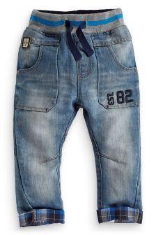 Check Trim Jeans (3mths-6yrs)