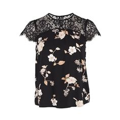 Saint Tropez Lace top with print