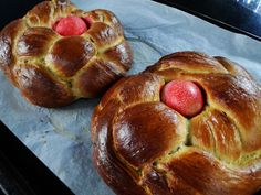 This traditional Greek Easter bread is terrific for Easter brunch, slathered with butter; and any leftovers make the world's most outrageous French toast! A nice thing about this recipe is th…