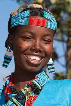 Tsemay, facial tribal marks, and beautiful smile