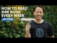 How To Read One Book Every Week   JIm Kwik - YouTube