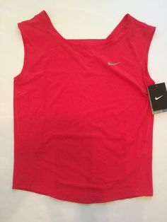 0dca6b1a Details about Nike Dri Fit S Sleeveless Fitness & Yoga Running Polyester  Blend Shirts & Tops