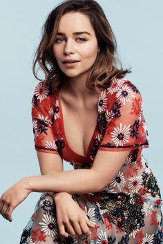 Emilia Clarke - Glamour Magazine (May 2016)