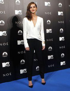 "Cele bitchy   ""Emma Watson looked sophisticated in J. Mendel in Madrid"" links"