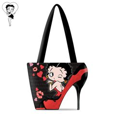 Betty Boop Handbag by The Bradford Exchange - click on picture for more ordering information #bettyboop