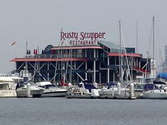 The Rusty Scupper, Baltimore, MD  Where we had our rehearsal dinner
