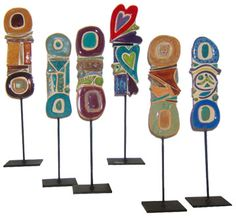 clay totems Google Image Result for http://www.gersonware.com/images/totems_sm_360.jpg