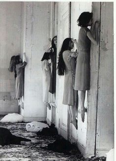 1977 German expressionist dance performance of Blaubart (Bluebeard) choreographed by Pina Bausch.