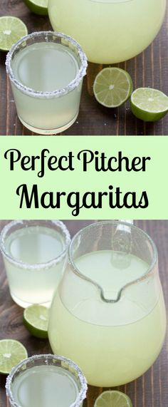 Perfect Pitcher Margarita recipe for a crowd. All you need is fresh lime juice, triple sec, and tequila. These make the best party drink!                                                                                                                                                                                 More