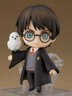 Good Smile Company: Nendoroid Harry Potter in preordine! Hedwig Harry Potter, Harry Potter Tumblr, Harry Potter Anime, Harry Potter Film, Harry Potter Kunst, Harry Potter Dolls, Arte Do Harry Potter, Harry Potter Pictures, Harry Potter Drawings