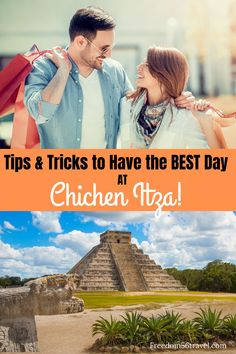 Visiting the Mayan Ruins at Chichen Itza is a must when visiting Mexico.  It's a great photography location to get your best Instagram shot!  Check out these great tips for making the most of out of your day at Chichen Itza!