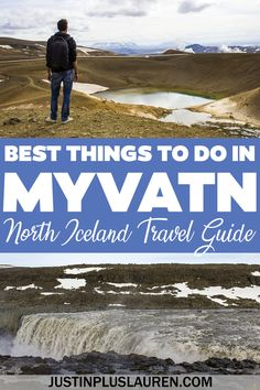 Here are the best things to do in Myvatn Iceland for an amazing trip to north Iceland and a portion of Iceland's Diamond Circle. What to do in Myvatn Iceland | Lake Myvatn Activities | Lake Myvatn Attractions | Iceland Itinerary | North Iceland Itinerary | Diamond Circle Iceland | Myvatn Nature Baths | Things to Do in Lake Myvatn Iceland