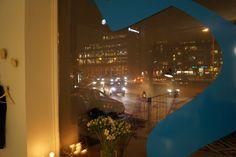 Ubiikin oppimisen fyysisen ulottuvuuden iltaiset näkymät. Helsinki marraskuu 2014.
