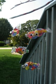 Recycled Bottled Water Fish