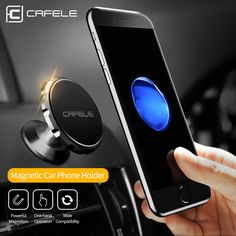 BUY now 4 XMAS n NY! CAFELE 3 Style Magnetic Car Phone Holder Stand For iphone 8 7 Samsung Air Vent GPS Universal Mobile Phone Holder Free ship Detailed information can be found on AliExpress website by clicking on the image Iphone Car Mount, Iphone Car Holder, Cell Phone Car Mount, Phone Lens, Smartphone Holder, Phone Case, Iphone 8, Car Best, Magnetic Phone Holder