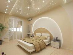 Star Light Feeling wit Romantic Bed Room Interior Design #StarLight #Bogan #KAKA