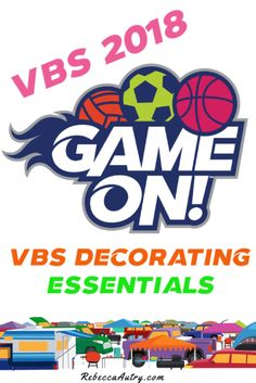 Game On VBS Decorating Essentials
