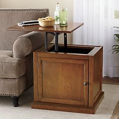 Lift Top End Table From Through The Country Door®