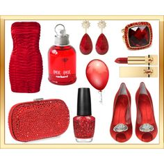 """""""Red"""" by yamyiy on Polyvore"""