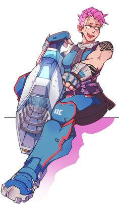 Awesome take on Zarya from Overwatch!