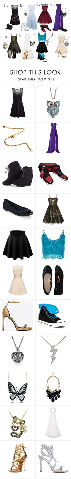 """""""Which Is Your Style"""" by because-it-is on Polyvore featuring Aéropostale, Patricia Nicolas, NIKE, Jack Rogers, Alice + Olivia, Chi Chi, Yves Saint Laurent, Converse, Andrew Hamilton Crawford and GUESS"""
