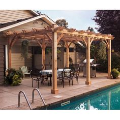 Backyard pergola vs gazebo/pavilion - Landscape Design Forum - GardenWeb