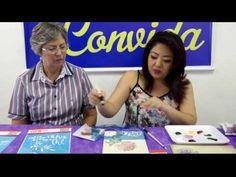 Stencil OPA - 19/06/2014 - Mayumi Takushi - Pintura em Painel com Stencil - Mayumi Takushi - YouTube