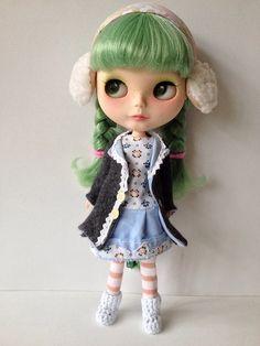 Custom blythe doll enchanted petal by mishanetoto, via Flickr
