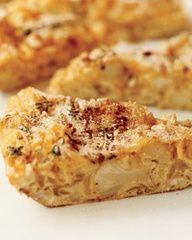 Cauliflower frittata - easy, vegitarian, quick and yummy.