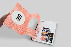 10 Magazine - Gareth Procter Graphic Design