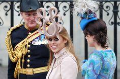 Princess Beatrice's royal wedding hat