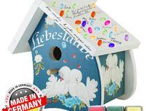 Vogelhaus Hochzeit, Vogelhäuschen als Geldgeschenk