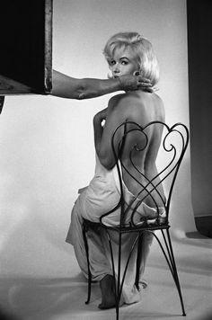Marilyn Monroe 1960   Photo: Eve Arnold
