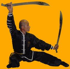 I love all kung fu weapons...
