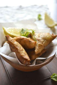 MEAT SAMOSA | kurryleaves