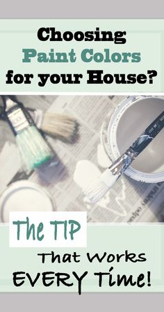 Tip for Choosing Paint Colors for a Room or House This tip will help you get the right paint color for your room or house the first time!This tip will help you get the right paint color for your room or house the first time! Kitchen Decorating, Decorating Tips, Interior Decorating, Do It Yourself Furniture, Do It Yourself Home, Interior Paint Colors, Paint Colors For Home, Paint Colours, Painting Tips
