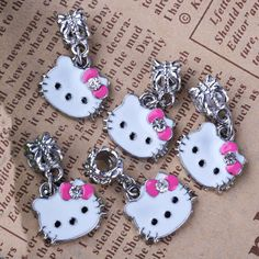 20pcs Hot Wholesale Cute Pink Bow Hello Kitty by Avatarjewelry, $8.16