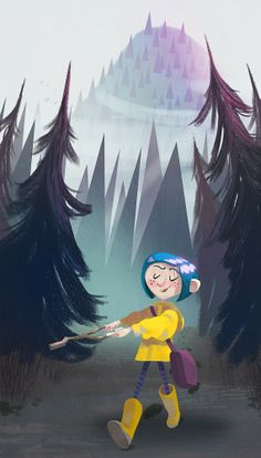 Well coraline is the same like me I used to live in a flat with my mom it was pink and there where other pink flats connected to it i felt like I was her and I'm still just like her but me and me mum moved house 3 years ago Coraline Drawing, Coraline Movie, Coraline Jones, Coraline Aesthetic, Laika Studios, Kubo And The Two Strings, Dragons, Animation, Neil Gaiman