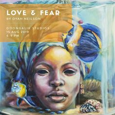 Bahamian art,  Love & Fear by Artist Dyah Neilson Fear Of Love, Past, Culture, Studio, Artist, Painting, Afraid Of Love, Past Tense, Artists