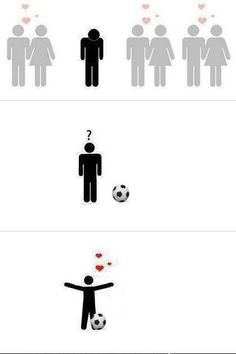 Soccer seriously was my first love, and they always say that you will always love your first love no matter what.