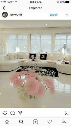 Chanel, Future House, Tulle, Table Decorations, Instagram, Home Decor, Lounges, Furniture Ideas, Bedrooms