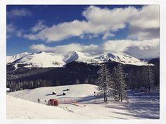 #CamilaRaznovich Camila Raznovich: Screaming it from the top of the mountain....#skitime #dolomiti #currentmood #wow #waitforme #heythere