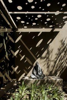 Light patterns in Scottsdale, Arizona.