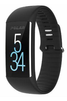 Polar A360 Fitness Tracker with Wrist Heart Rate - Black, Medium