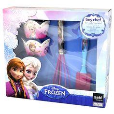 Frozen Cup Cake Set-4pc Official Disney Kids Cooking Bakeware