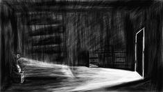 J'ai peur de fermer les yeux - Pierre-Julien Fieux – Portfolio – Illustration - Animation - GIF - Motion Design